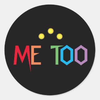 ME OOK in de Stickers van de Kleuren van de
