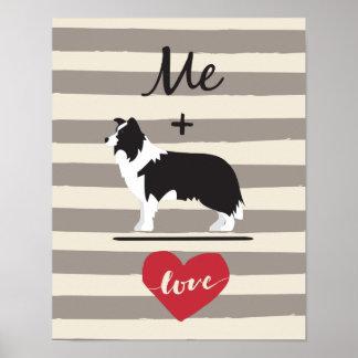 Me plus Document van het Poster van de Liefde van