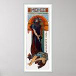 Medee (Medea) - Mucha - de advertentie van het Poster