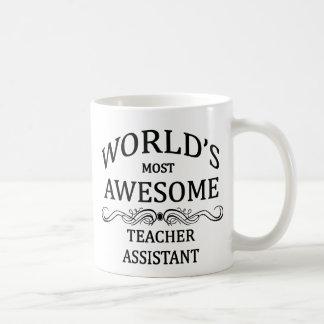Medewerker van de Leraren van de wereld de Meest Koffiemok