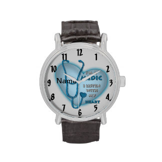 Medic Blue Heart Watches