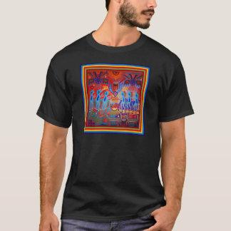 Medicijnman Rituele Huichol T Shirt