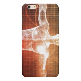Medisch Onderzoek naar het Menselijke Lichaam als iPhone 6 Plus Hoesje Glanzend