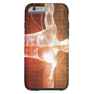 Medisch Onderzoek naar het Menselijke Lichaam als Tough iPhone 6 Hoesje