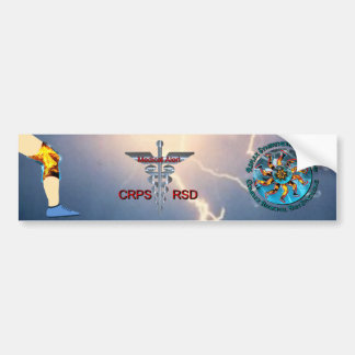 Medische Alarm CRPS RSD & Bliksem Asclepius Caduc Bumpersticker