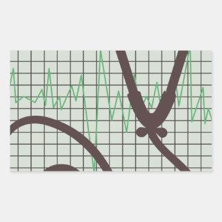 Medische Grafiek Rechthoekige Sticker