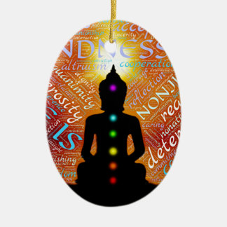 Meditatie Keramisch Ovaal Ornament