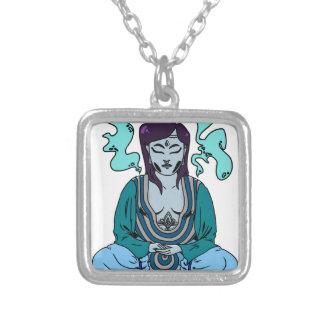 Meditatie Zilver Vergulden Ketting