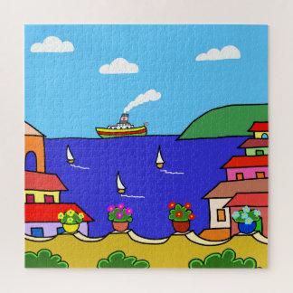 Mediterrane Vakantie Puzzel
