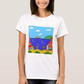 Mediterrane Vakantie T Shirt