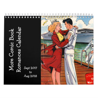 Meer Grappige Romancen van het Boek - Sept. 2017 o Kalender