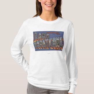 Meer Hopatcong, New Jersey - de Grote Scènes van T Shirt
