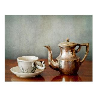 Meer koffie voor uw ochtendopstarten! briefkaart