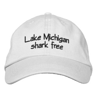 Meer Michigan - vrije haai Geborduurde Pet