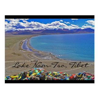 Meer nam-Tso in Tibet Briefkaart