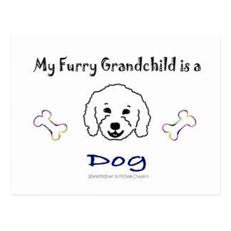 Meer Ontwerp van de Namen W/This van het Hondenras Briefkaart