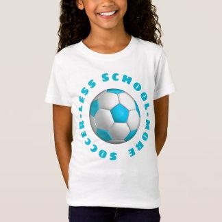 Meer Turkoois van het Voetbal T Shirt