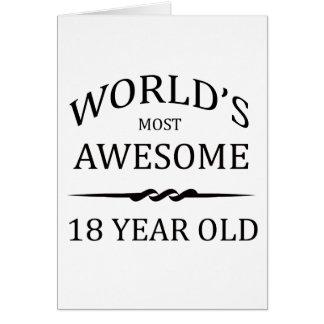 Meest geweldige 18 Éénjarigen van de wereld de Kaart