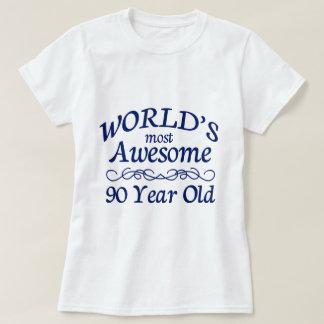Meest geweldige 90 Éénjarigen van de wereld de T Shirt
