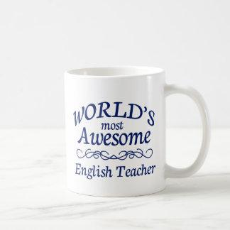 Meest geweldige Engelse Leraar van de wereld de Koffiemok