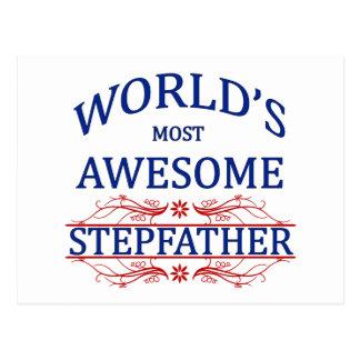 Meest geweldige Stiefvader van de wereld de Briefkaart