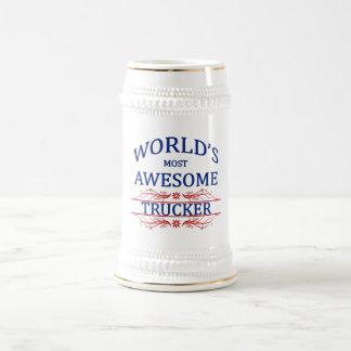 Meest geweldige Vrachtwagenchauffeur van de wereld Bierpul