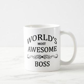 Meest geweldige Werkgever van de wereld de Basic Witte Mok