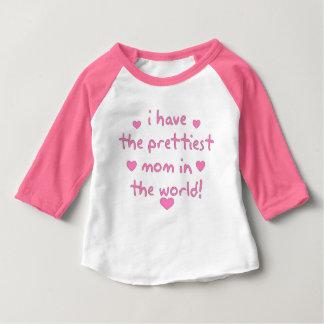 Meest mooie mamma in de wereld baby t shirts