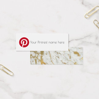 meest pintrest sociaal media blog mini visitekaartjes