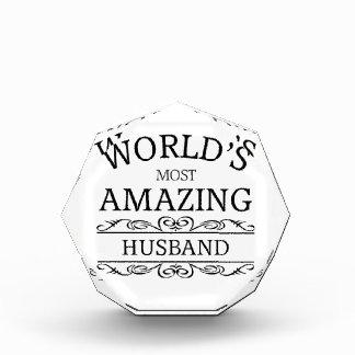 Meest verbazende echtgenoot van de wereld de prijs
