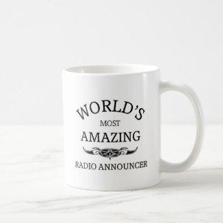 Meest verbazende RadioOmroeper van de wereld de Koffiemok