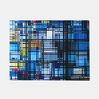 Meestal Blauwe Moderne Samenvatting Deurmat