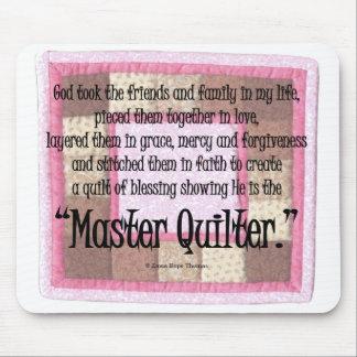 Meester quilter muismat