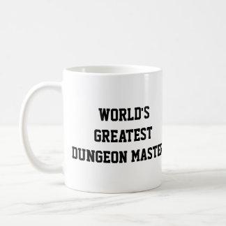 Meester van de Kerker van de wereld de Grootste Koffiemok