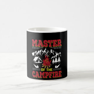 Meester van het Grappige het Kamperen van het Koffiemok