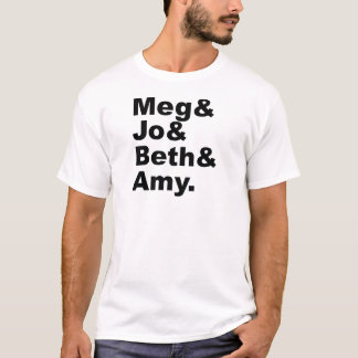 Meg & PB & Beth & Amy | Kleine Literatuur van T Shirt