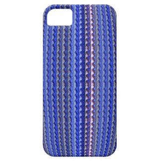 Mega Helder Kleurrijk Paars Geometrisch Ontwerp Barely There iPhone 5 Hoesje