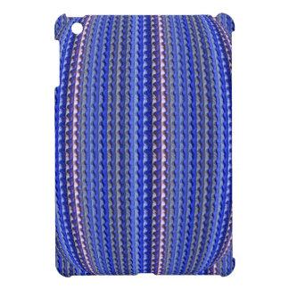 Mega Helder Kleurrijk Paars Geometrisch Ontwerp iPad Mini Cover