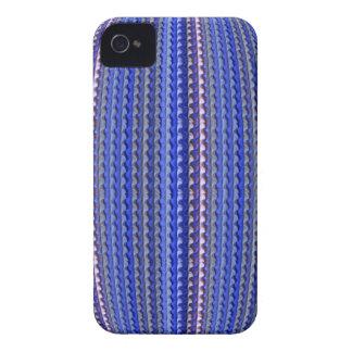 Mega Helder Kleurrijk Paars Geometrisch Ontwerp iPhone 4 Hoesje