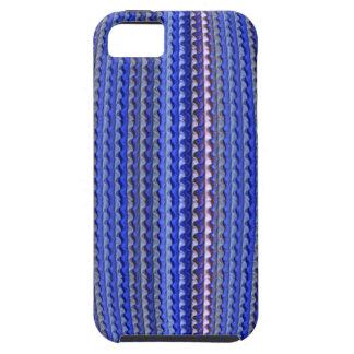 Mega Helder Kleurrijk Paars Geometrisch Ontwerp Tough iPhone 5 Hoesje