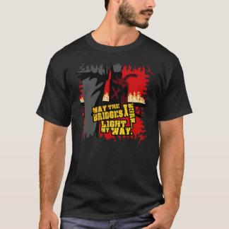 Mei de Bruggen die ik… heb gebrand Steek mijn T Shirt