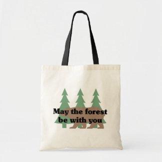 Mei het Bos is met u Canvas tas