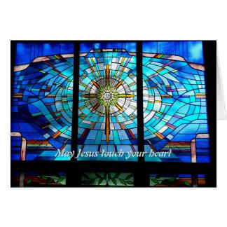Mei Jesus raakt uw hart Kaart