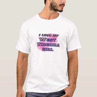 Meisje het West- van Virginia T Shirt