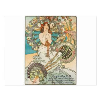 Meisje in Gebed Briefkaart