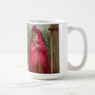 Meisje in Rode Kaap Koffiemok