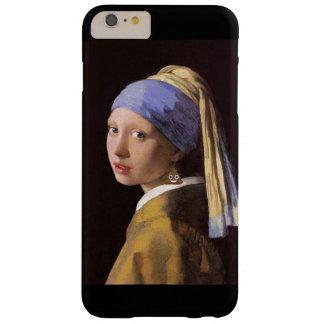 Meisje met de Oorring van het Achterschip Barely There iPhone 6 Plus Hoesje