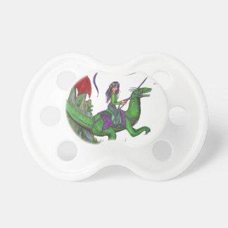 Meisje met Draken en Dinosaurussen Speentje
