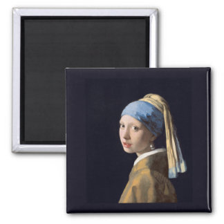 Meisje met een Oorring van de Parel, Vermeer Magneet