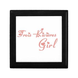 Meisje trois-Rivières Decoratiedoosje